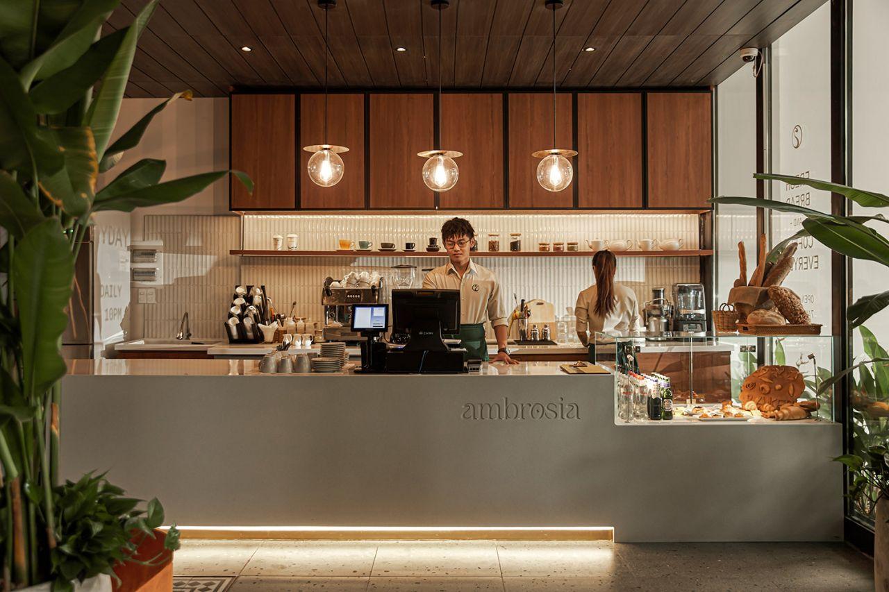 xolve branding x Ambrosia cafe bistro Vietnam