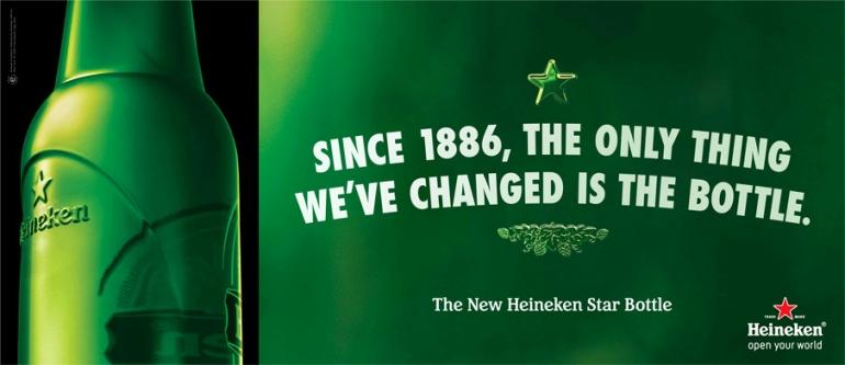 Heineken Chai khắc nổi mới: Tuyệt tác Marketing của thương hiệu dẫn đầu