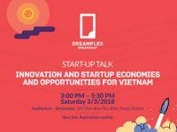 Mời tham dự sự kiện: Câu chuyện khởi nghiệp - Hướng đi cho start-up Việt Nam trên đấu trường Quốc tế