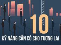 [Infographic] 10 kỹ năng cần có để thành công trong tương lai