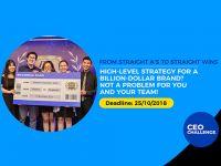 Cuộc thi P&G CEO Challenge 2018 - Cơ hội để người trẻ học cách tư duy như một CEO