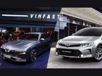 Doanh số ô tô tháng 7: VinFast lần đầu tiên đánh bại Toyota