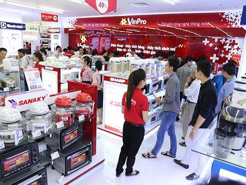 Vingroup thay đổi mô hình kinh doanh của hệ thống cửa hàng VinPro+