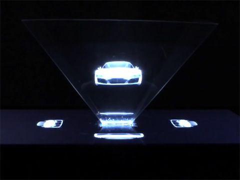 Quảng cáo Hologram tích hợp đầu tiên trên báo giấy