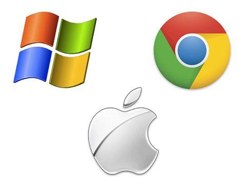 Apple ngược chiều hoàn toàn với Microsoft và Google