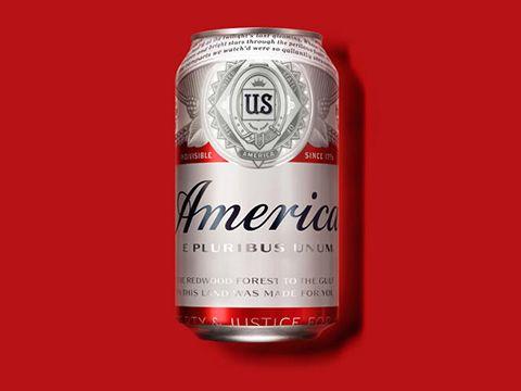 """Bia Budweiser đổi tên thành """"America"""""""