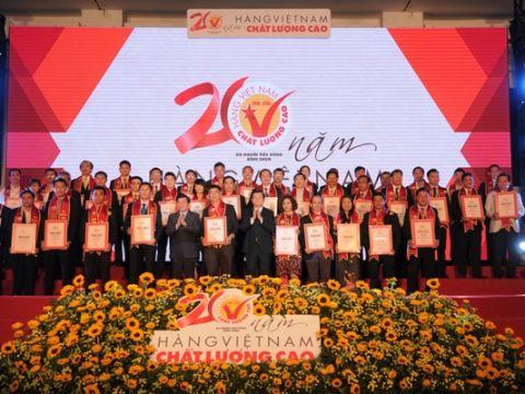 Lễ công bố hàng Việt Nam chất lượng cao 2017:Hàng Việt cất cánh: Tăng nội lực – tích cực hội nhập
