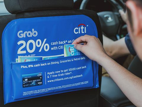 Grab rục rịch lấn sân sang mảng quảng cáo trên xe