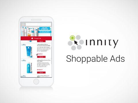 Innity chính thức ra mắt quảng cáo tích hợp mua sắm – Shoppable Ads