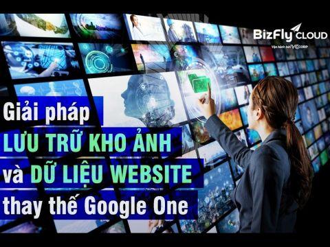 BizFly: Gợi ý giải pháp lưu trữ kho ảnh và dữ liệu website thay thế Google One