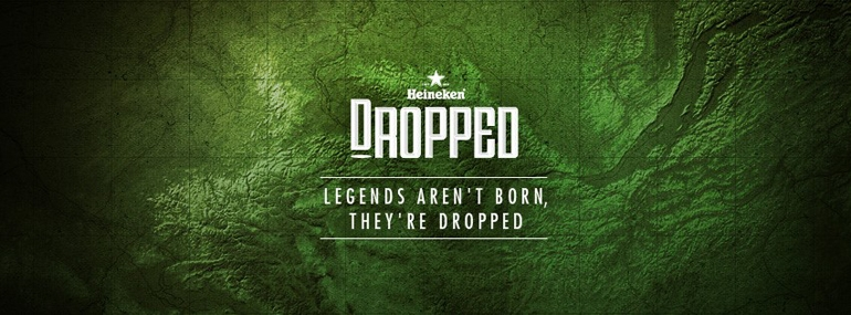 Heineken – Legends aren't born, they are dropped