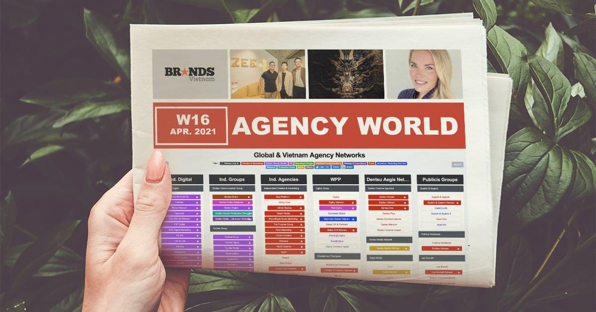 Agency World W16/2021 – Dentsu Redder vào Shortlist giải thưởng toàn cầu, Wavemaker trở thành AOR cho Bumble