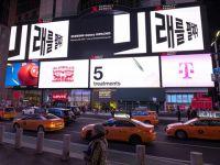 Samsung Galaxy S10 xuất hiện đồng loạt trên các billboard tại những thành phố lớn