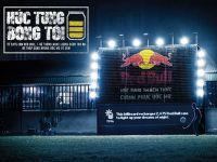 Billboard từ vỏ lon của Red Bull Húc tung bóng tối - Chinh phục ước mơ