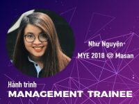 Hành trình Management Trainee #4 - Nguyễn Hữu Như Nguyện @ Masan: Ước mơ góp tay xây thương hiệu Việt