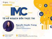 """Mời tham dự Workshop """"IMC – Từ kế hoạch đến thực thi"""""""