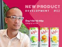 Phát triển sản phẩm mới #2: Nước uống có ga hương trái cây La Vie