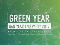 Mời tham dự sự kiện tại Tp.HCM: UAN Year End Party 2019 – Green Year