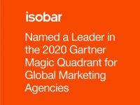 Isobar được vinh danh trong danh sách Leader 2020 Magic Quadrant dành cho các công ty tiếp thị số toàn cầu