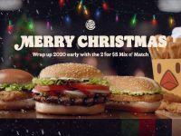 Đón Giáng sinh giữa tháng 7 – Burger King gây xôn xao ngành quảng cáo