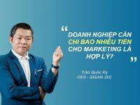 Doanh nghiệp cần chi bao nhiêu cho Marketing là hợp lý?