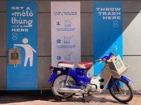 """UNICEF Việt Nam cùng Happiness Saigon biến xe máy thành """"thùng rác"""" công cộng"""