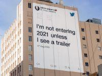 Twitter triển khai chiến dịch OOH đầy hài hước tạm biệt năm 2020 đầy sóng gió