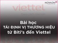 Bài học Tái định vị thương hiệu từ Biti's đến Viettel và 4 điểm cốt lõi tạo nên thành công