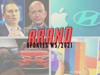 Brand Updates W5/2021: Ông Jeff Bezos rời vị trí CEO Amazon, Apple hợp tác với KIA chế tạo xe điện
