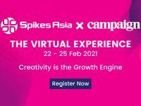 Spikes Asia và Campaign đồng tổ chức sự kiện trực tuyến Spikes Asia Virtual Festival