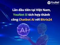 YouNet Social Intranet tích hợp thành công Bitrix24 với chatbox AI qua Facebook, Zalo OA