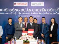 Tập đoàn Thạch Bàn bắt tay Novaon triển khai chuyển đổi số dữ liệu