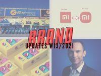 Brand Updates W13/2021: TGDĐ chuẩn bị tiến ra thị trường Châu Á, Xiaomi đổi logo mới
