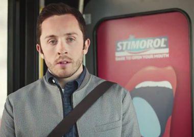 Stimorol Gum: Stand up