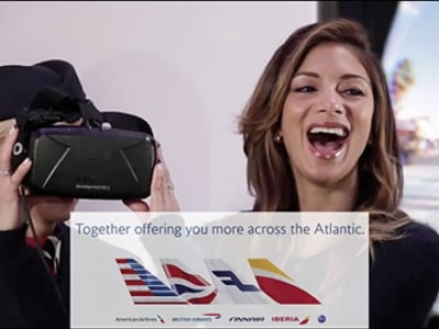 British Airways Discovering a virtual reality USA Campaign