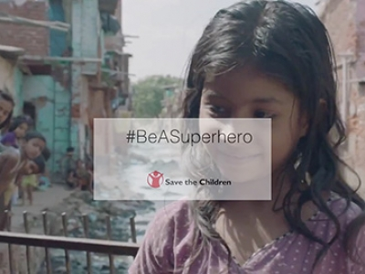 Save the children Superheroes: Eyewitness Reports Campaign
